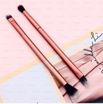 1Pcs Makeup Brushes Eyeshadow Brush Doubled Ended Eye Make Up Brushes Cosmetics Tool Eye Makeup Cosmetic Applicator 1