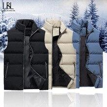 Vest Men Outwear-Coats Spring Streetwear Male Thicken Autumn Casual New-Fashion Sleeveless