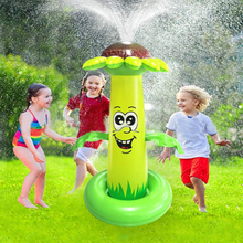 Inflatable Spray Water Cushion Kids Pool Play Water Mat Lawn Games Pad Sprinkler Summer Outdoor PVC Fun Toys
