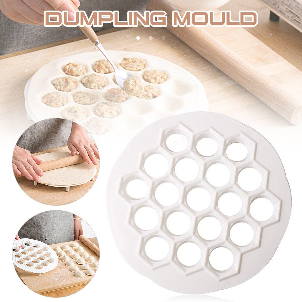 19 Hole Kitchen Baking Utensils Pelmeni Plastic Mold Dumplings Maker Mold