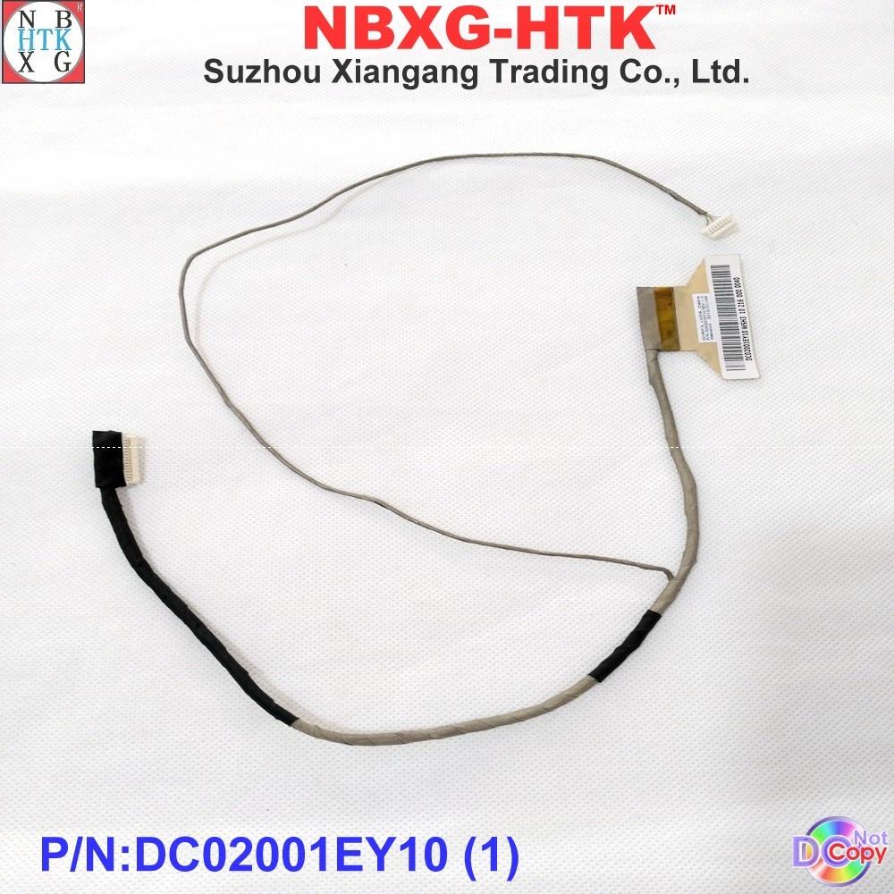 Новый оригинальный ЖК-кабель для LENOVO IdeaPad Y480 Y480a Y480m Y480n Y480p Y485 ноутбук LVDS ЖК-кабель DC02001EY10 DC02001EY00