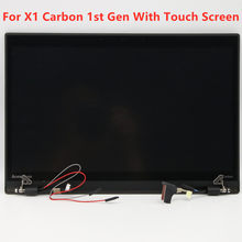 Hot Sale Laptop Touch Whole Screen Digitizer Assembly 00HM966 LP140WD2-TLE2 1600*900 for Lenovo Thinkpad X1 Carbon 1st Gen