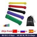 SeekNfind подтягивание помочь полос, 6 цветов, эластичные ленты для занятий спортом для тяжелых условий эксплуатации резинки для фитнеса, тренир...
