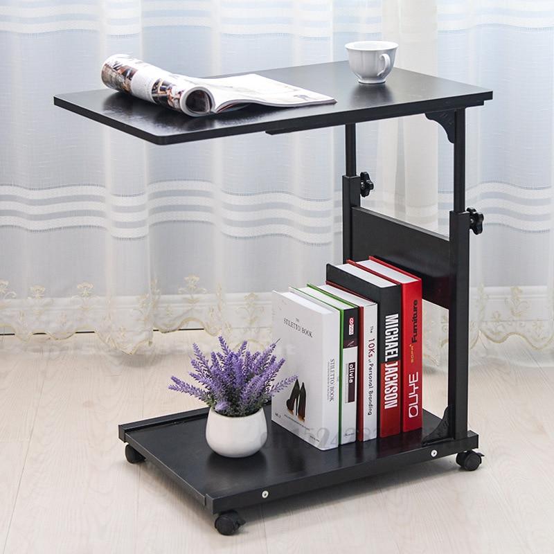 Современный и простой мобильный приставной стол диван Спальня угловой стол мобильный прикроватный столик Гостиная мини-диван шкаф боковой...