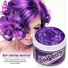 Unisex Hair Color Wax Disposable DIY Mud Dye Cream Temporary Shape For Festival Dress Up Tool