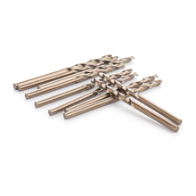 цена на 10pcs/set Twist Drill Bit Set Hss M35 Cobalt Drill Bit 3mm Used For Steel Stainless Steel High Speed Steel Drill Bit Set