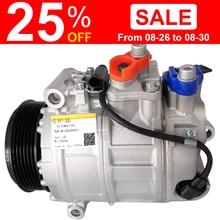 AC Compressor For Mercedes Benz Sprinter Vito 639 2.2 CD W203 Sprinter Mercedes Air Condition Compressor A0002306511 A0002309011