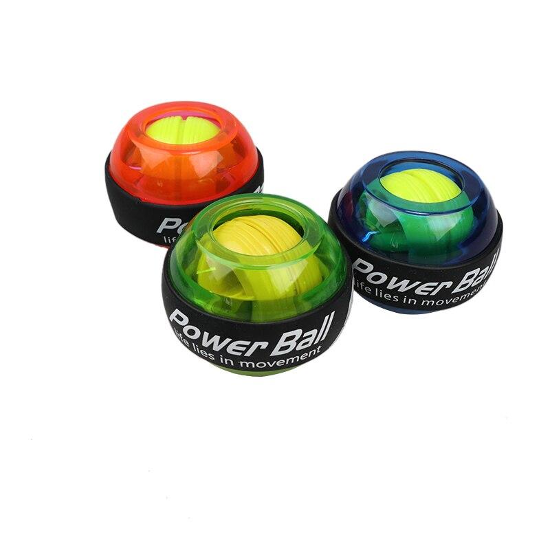 Светодиодный силовой мяч для мышц, тренировочный мяч для запястья, расслабляющий гироскоп, силовой шар, гироскоп тренажер для рук, усилител...