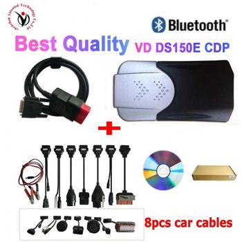 2020 new vci vd ds150e cdp bluetooth vd tcs cdp pro obd obd2 scanner 2016.00 keygen for delphi car&truck diagnostic tool 2020 latest tcs cdp pro plus for delphi ds150e cdp cars trucks obd2 diagnostic tools for autocom with full set 8 cables