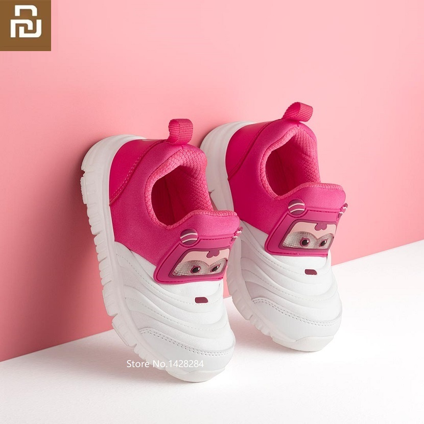 New youpin Lightweight Children's Super Flying Functional Shoes Flashing lightshoes Function shoes child baby sports shoes Shoe Covers     - title=