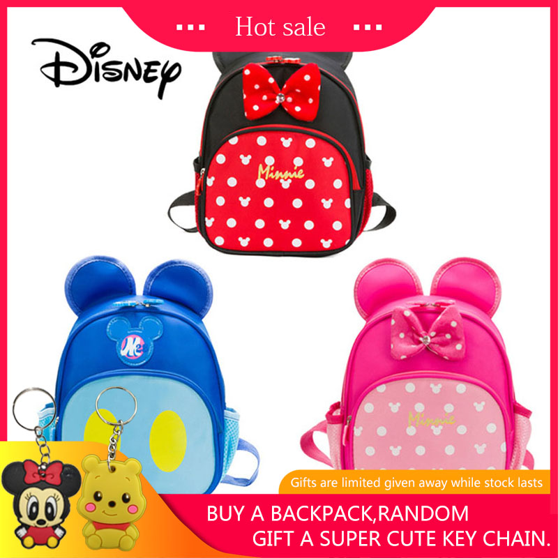 Mickey /& Minnie Mouse Children/'s Bag
