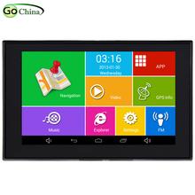 IaotuGo 5 cal pojemnościowy Android GPS samochodowa nawigacja GPS MTK8127 czterordzeniowy 8G pamięci 512RAM WIFI Bluetooth AV-IN nawigacji tanie tanio 800x480 Pojazdów gps jednostki i sprzęt Mp3 mp4 Nadajnik fm Ekran dotykowy Ładowarka MTK8127 Quad Core 512M Support for rear view camera