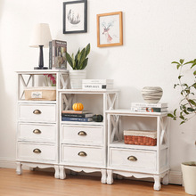 Storage-Cabinet Cabinet-Drawer-Type Bedroom Chest Balcony Wooden Finishing Multi-Layer