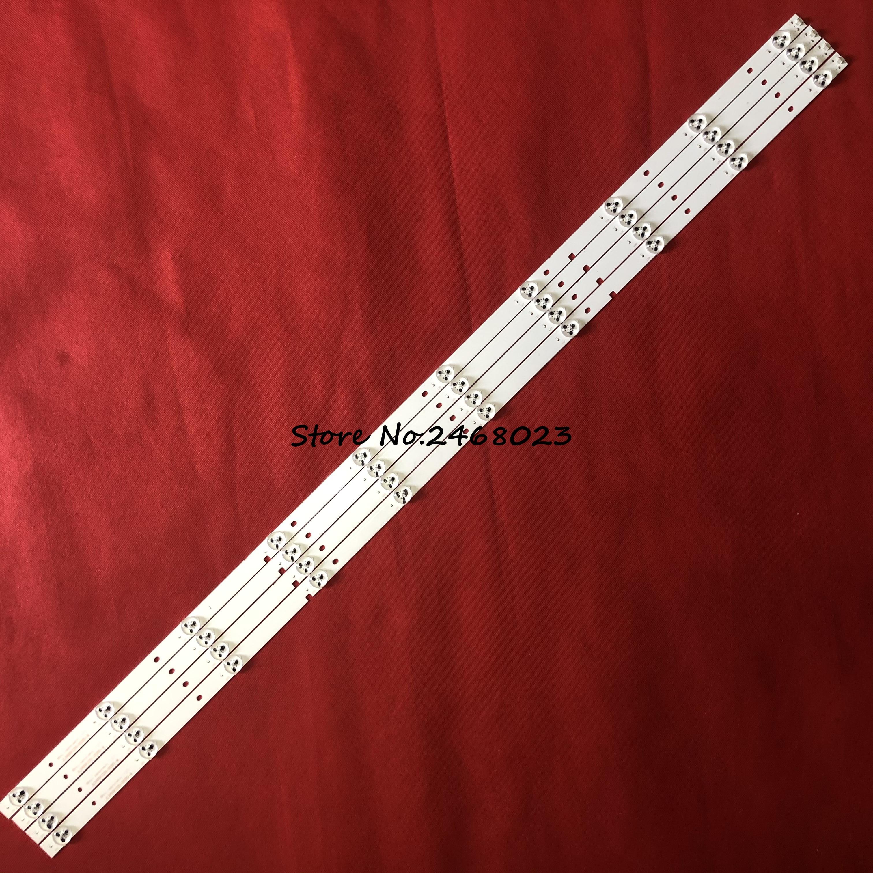 Светодиодный Подсветка полосы 10 лампы для Hisense 49 дюймов ТВ H49M2600 H49M2100 JL.D490A1330-003BS-M светодиодный 49H2600 светодиодный 49K300U JHD490N2F81 \ S0