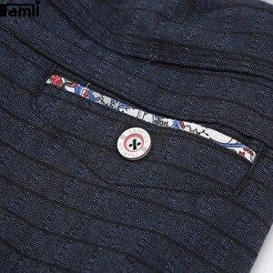 Image 4 - Calças para meninos calças casuais menino xadrez escola calças de cintura elástica crianças de comprimento total moda meninos grandes leggings