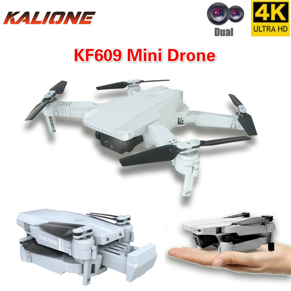 KF609 RC Drone with camera 4k selfie follow me mini quadcopter dron FPV drones remote control helicopter quadrocopter Toys gift