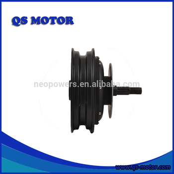 Chinese QS Motor 10 inch 4000W 72V Electric Scooters/Trik/4-Wheel vehicle Single Shaft In-Wheel Hub Motor(50H) V2
