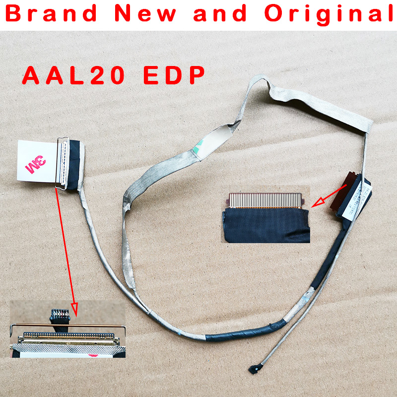 Nova tela EDP lcd LVDS cable Para Dell Inspiron 15-5000 15UR N5558 N5559 N3558 V3549 5558 3558 5555 CN-0DDJYY DDJYY DC020024900