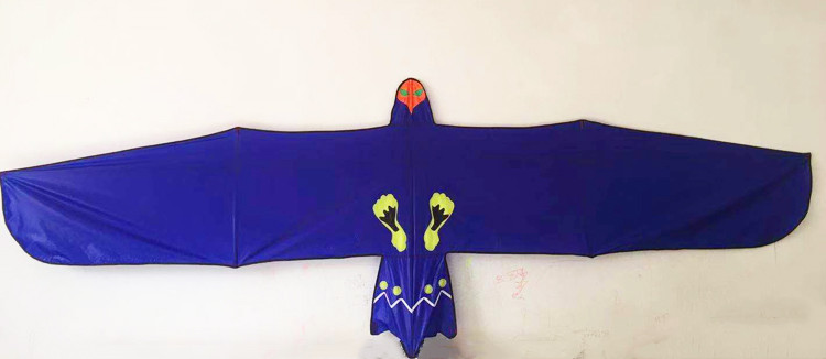 Nouvelle arrivée 3m haute qualité puissance aigle cerf-volant avec poignée ligne oiseau cerf-volant animal cerf-volant pour les enfants facile à voler - 4