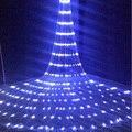 Рождественский светодиодный Водопад метеоритный дождь строка светильник гирлянда 6X3M светодиодный праздничные декоративные светильники С...