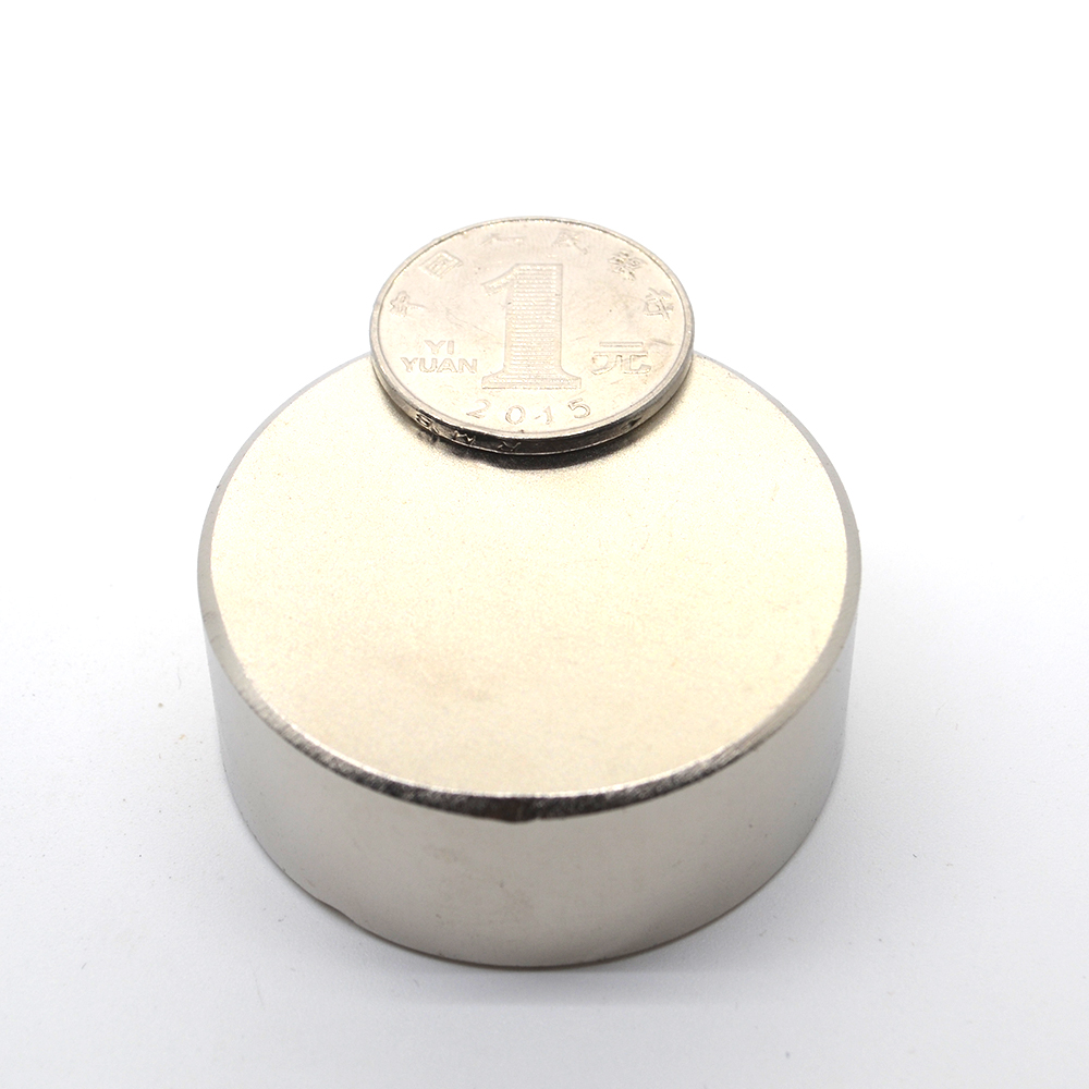 2 uds. N52 imán de Neodimio 50x20mm metal de gallium super imán redondo resistente 50*20 imanes de Neodimio para altavoces medidores de agua