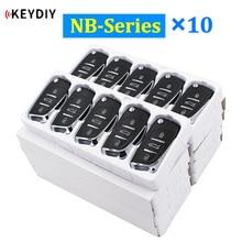 10Pcs/Lot Multi functional Universal Remote Key NB11 NB08 NB10 NB22 NB25 NB27 NB28 NB29 for KD900 KD900+ URG200 KD X2
