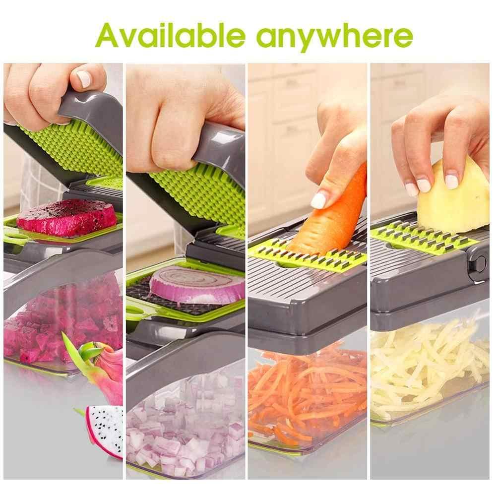 野菜カッター6ダイシングブレードマンドリンスライサー果物皮むき器ポテトチーズおろし器チョッパーキッチンアクセサリー野菜スライサー