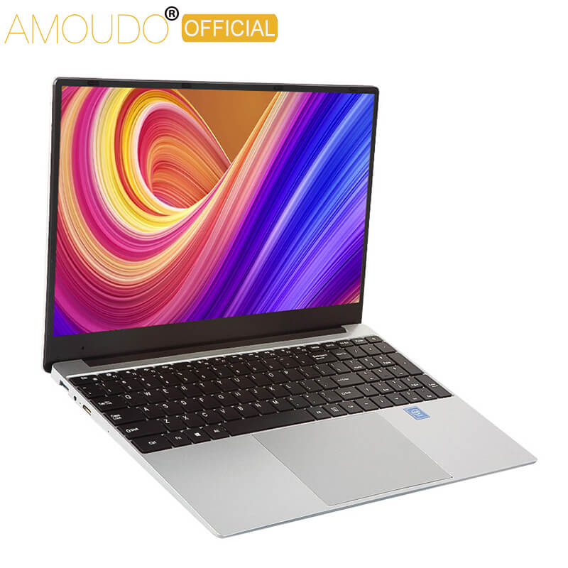 Ultrathin 15.6 Inch Intel i7 Gaming Laptop 8GB RAM up to 1TB SSD Notebook Win10 System 5G WiFi Bluetooth 4.0 Office Computer