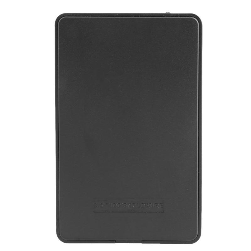 High Speed Portable External Notebook Hard Disk Case USB2.0 Port To IDE PATA 2.5inch HDD Notebook HDD Enclosure Box