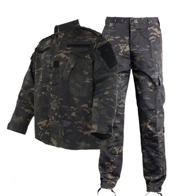 Army Military Airsoft Tactical BDU Uniform Kryptek Mandrake Camouflage Battlefield Suit Airsoft Paintball Shirt Hunting Clothing 4