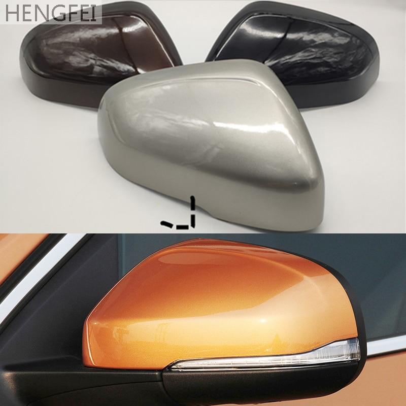 Автомобильные аксессуары Hengfei чехол для автомобильного зеркала чехол для Volvo S60 V60 V40 S80 11-19 Корпус зеркала заднего вида
