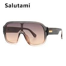2020 Luxury Brand Sunglasses For Men Vintage One Piece Shiel