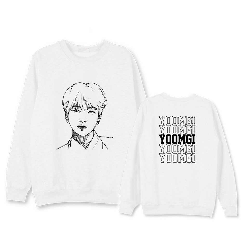US $16.99  TWICE Kpop harajuku clothes pink sweatshirt hoodies women winter jacket men Korean version black White Cotton Casual Letter 2019 on