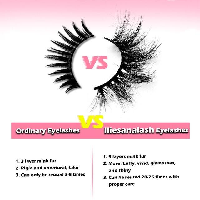Wholesale 20/30/40/50Pairs Eyelashes 3D Mink Lashes Handmade Fluffy Dramatic Lashes Cruelty Free False Eyelashes Makeup Lashes 2
