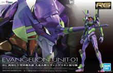Original Bandai EVA Model RG 1/144 EVANGELION UNIT-01 EVA-01 Mobile Kids Toys