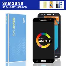 5 2 #8221 oryginalny J530F LCD do SAMSUNG Galaxy J5 2017 J530 SM-J530F J530M wyświetlacz LCD ekran dotykowy Digitizer zgromadzenie SUPER AMOLED tanie tanio Ekran pojemnościowy 1280x720 3 For Samsung Galaxy J5 2017 J530 LCD LCD i ekran dotykowy Digitizer 1280*720 LCD Display+Touch screen digitizer