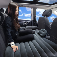 Car Travel Bed High Quality Inflatable Travel Holiday Camping Car Seat Rest Cushion Rest Sleeping pad Spare Mattress Air Bed