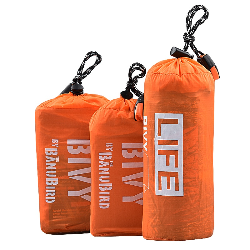 Outdoor Life Emergency Sleeping Bag Thermal Keep Warm Waterproof Mylar First Aid Emergency Blanket Camping Survival Gear