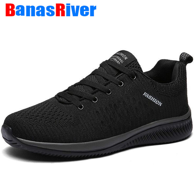 New Four Seasons Mesh Men Flats Casual Shoes Comfortable With Plush Warm Light Breathable Walking Sneakers Outdoor Big Size 48
