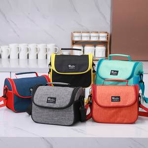 Lunch-Bag Outdoor Waterproof Fashion Large-Capacity School-Food Portable New Simple-Style