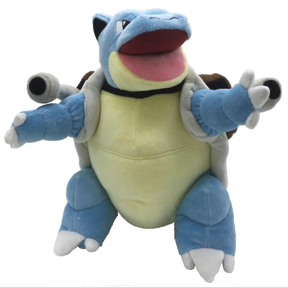 Blastoise tortank cannon черепаха pikachued плюшевая кукла обувь для косплея; Аниме мультфильм куклы чучела плюшевые игрушки pokemoned производные подарок для ...