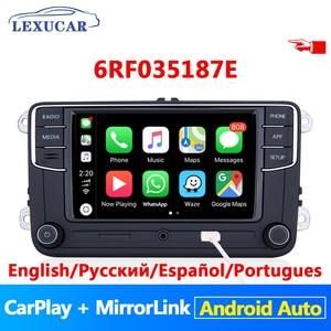 LEXUCAR RCD330 Plus RCD330G R340G Android Автомагнитола 6RF 035 187E для VW Golf 5 6 Jetta MK6 CC Tiguan Passat Polo