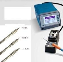 Digitale Löten T12-11 Digitale bleifreies Löten Station mit Lötkolben Tipps Telefon PCB Komponenten Schweißen Reparatur Werkzeuge
