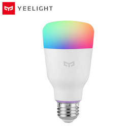 YEELIGHT YLDP06YL Glühbirne 10W 800lm RGB E27 Wireless Control Voice Control Smart Lampe Vast Farbe Optionen Bunte Version