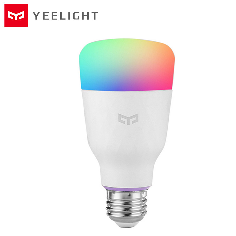YEELIGHT YLDP06YL Light Bulb 10W 800lm RGB E27 Wireless Control Voice Control Smart Lamp Vast Color Options Colorful Version