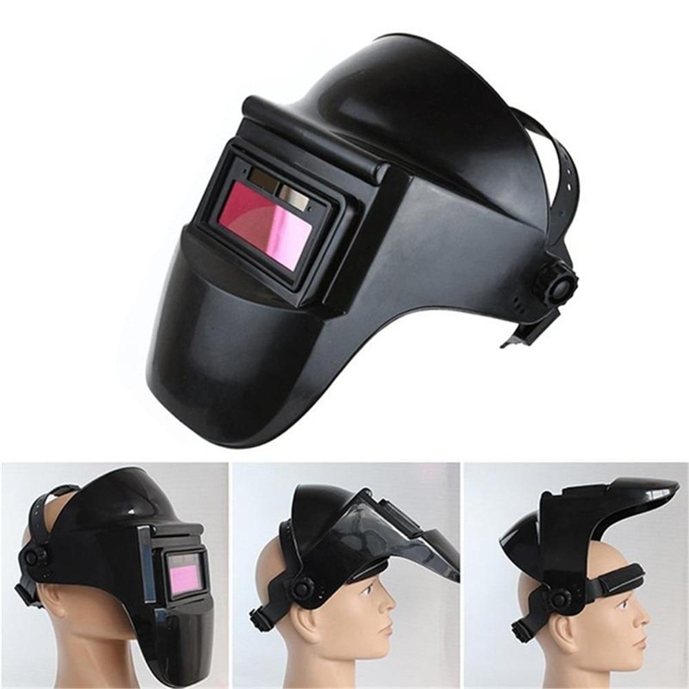 Adjustable Welding Helmet Solar Auto Darkening Grinding Headband Welding Helmet Protective Mask Sparkproof Welder Mask  - buy with discount