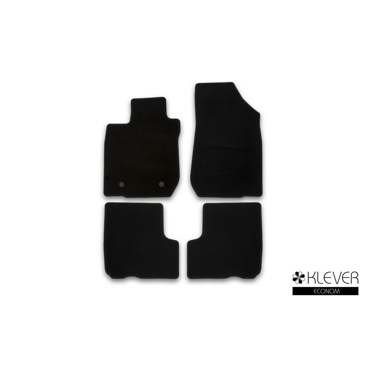 Floor mats Klever econom Lada Largus 5 seats 2012  UN. 4 PCs (textiles) lergus)|Floor Mats| |  - title=