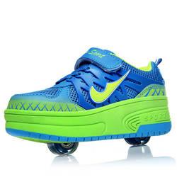 Ультралегкая обувь для бега; детская обувь для мужчин и женщин; детская обувь; светящаяся обувь; спортивная обувь; колеса