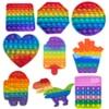 Push Bubble Fidget Toys Anti Stress Set Strings Relief Adults Children Sensory Squishy Antistress Relief Anti Stress Figdet#3
