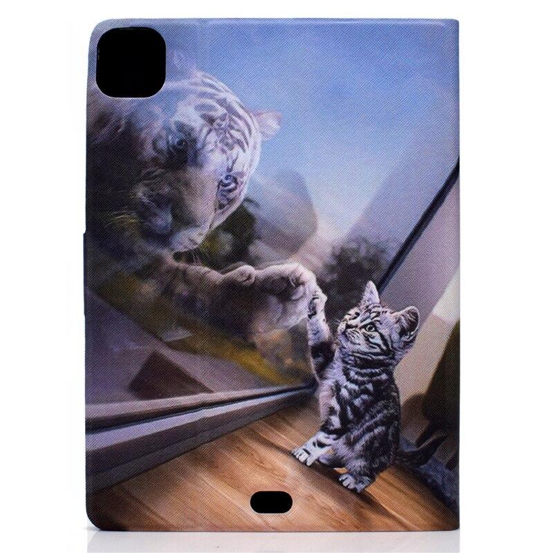 For For Cartoon IPad Apple 10.9 Cover Air4 Ipad Bear Case 2020 4 Leather Thin inch Air